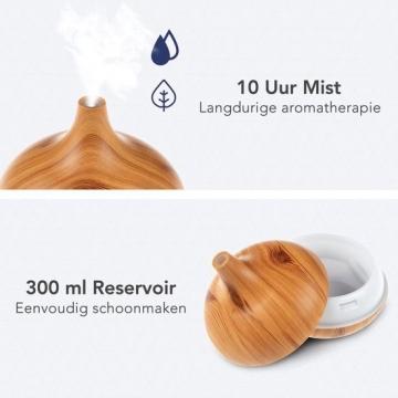 LifeGoods Aroma Diffuser 300ML duur