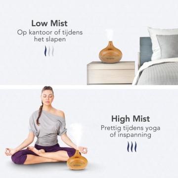 LifeGoods Aroma Diffuser meditatie