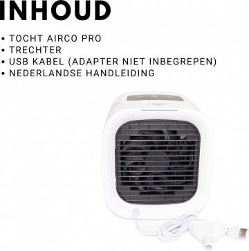 Tocht Mini Airco Pro inhoud